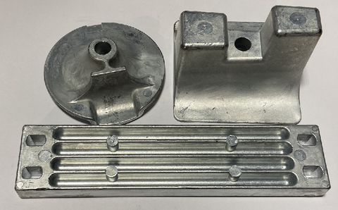 Yamaha 300 - 350 XP Zinc Anode Kit