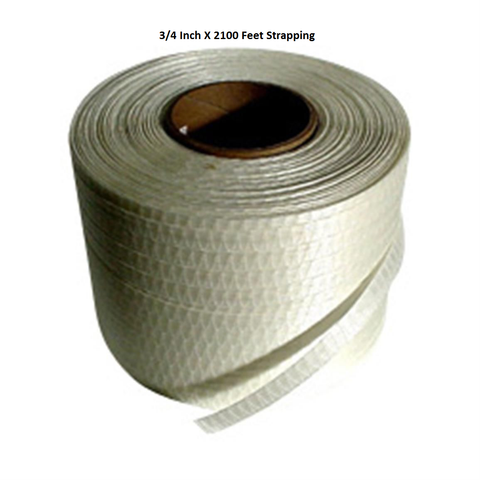 3/4 x 2100 Foot Strap-Cross Woven String Strapping