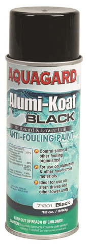 BLACK ANTIFOULING PAINT FOR PROPS AND OUTDRIVES