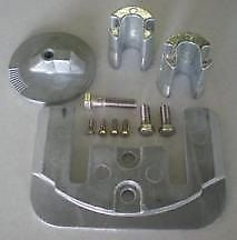 Mercruiser Bravo II and III Zinc Anode Kit Military Grade Zinc