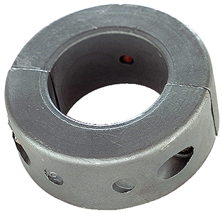 C11 - 2 1/4 Inch Shaft Collar Donut Zinc Anode