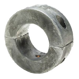 C6 - 1 3/8 Inch Shaft Collar Donut Zinc Anode