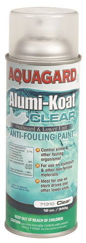 CLEAR ANTIFOULING PROP AND OUTDRIVE PAINT