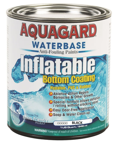 Aquaguard Inflatable Antifouling Bottom Paint BLACK QUART