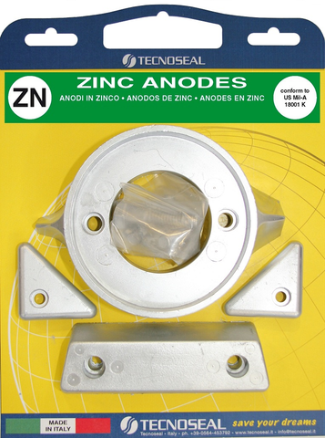 Volvo 290 C Single Prop Zinc Anode Kit
