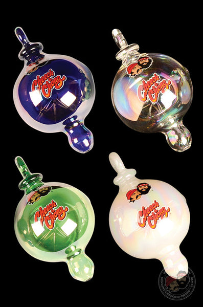 Cheech & Chong™ Glass Holiday Bulb Ornament Hand Pipe