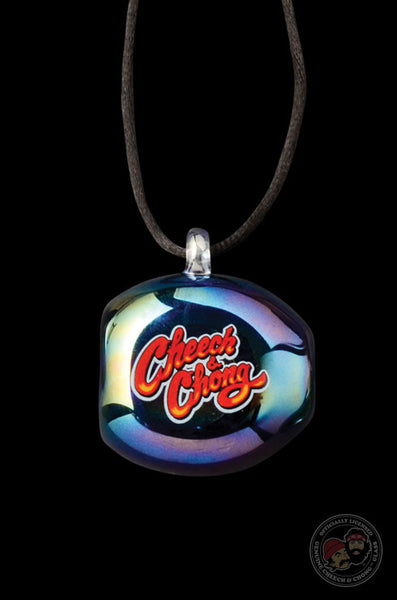 Cheech & Chong™ Glass Not-A-Pipe Pendant Smoke Stone Necklace Hand Pipe