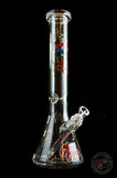 "Cheech & Chong™ Glass 15"" Tall Roots Beaker Tube Water Pipe"