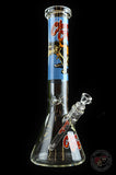 "Cheech & Chong™ Glass 15"" Tall The Lab Beaker Tube Water Pipe"
