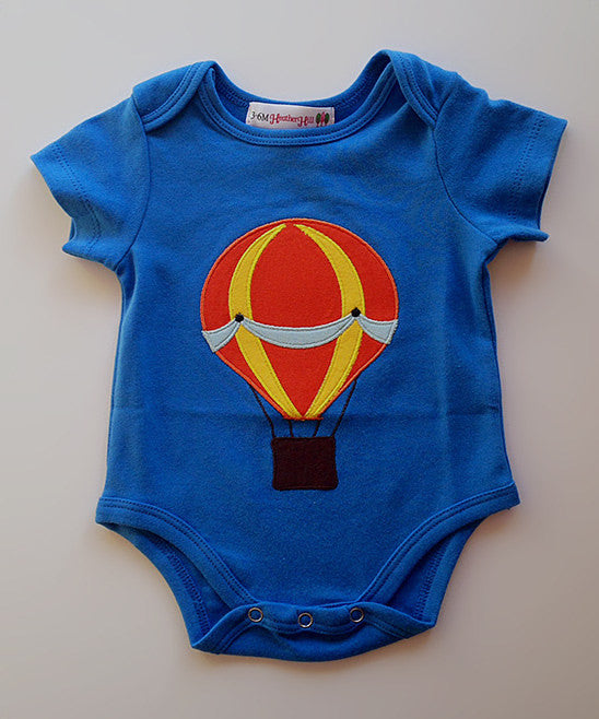 Baby Boy Hot Air Balloon Onesie