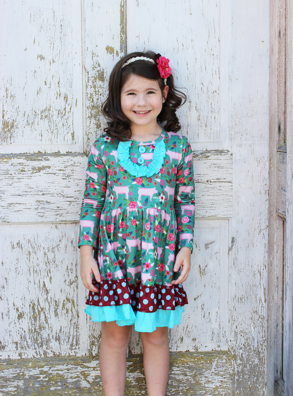 Heather Hill - Girls Piggy Dress