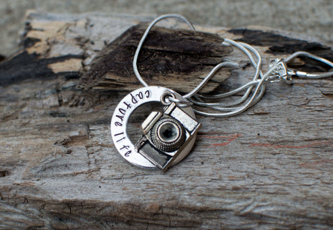 Capture Life Camera Necklace