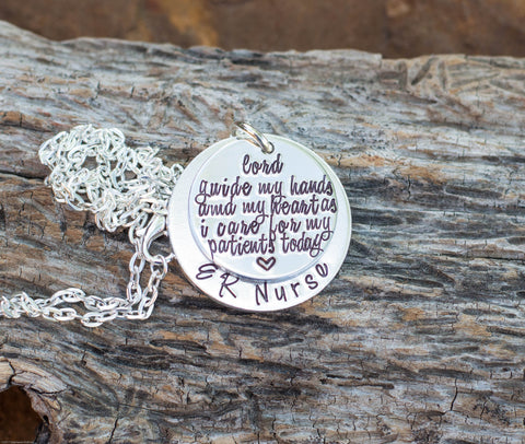 Nurse Necklace Silver