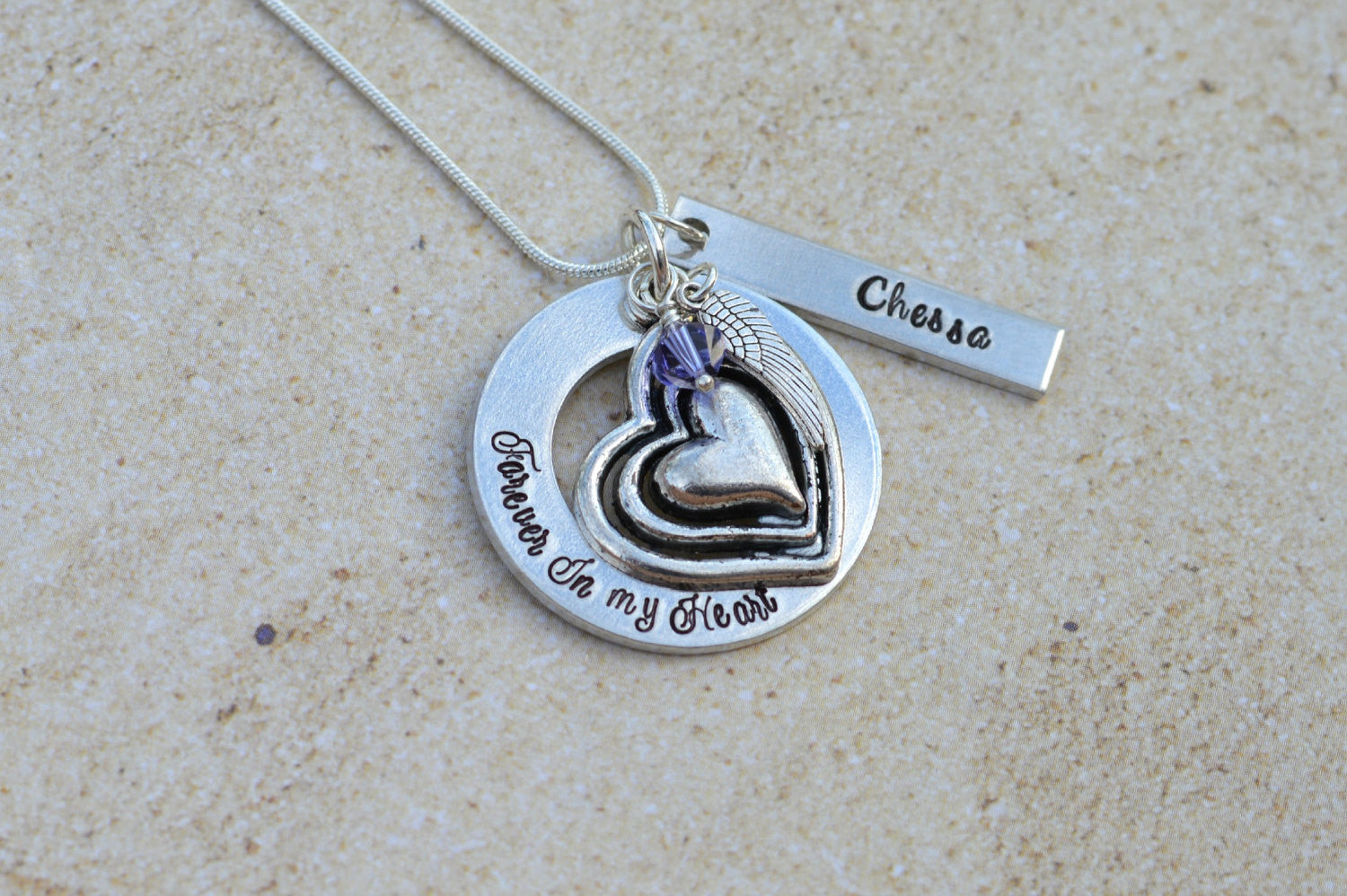 jewelry loss baby gift fullxfull il keepsake sterling in listing personalized necklace remembrance memorial silver rnxf miscarriage heart footprints