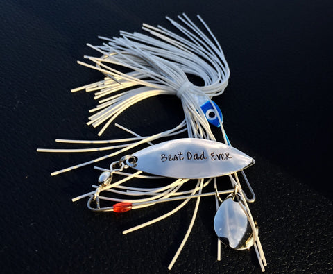 Personalized Fishing Lure | Best Dad Ever | Heel Lilies - Heel Lilies  - 1