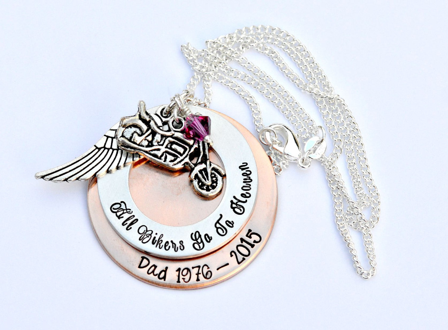 pendant mom of necklace dad jewelry untitled rememberance in memorial product memory
