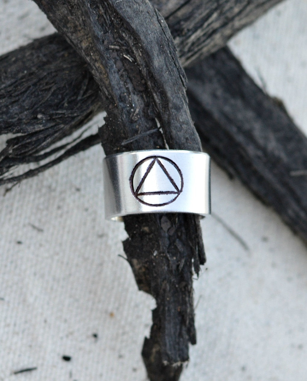 Aa Symbol Jewelry Hand Stamped Toe Ring Toe Ring Personalized Toe