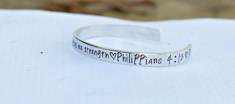 Bible Verse Prayer Cuff Bracelet Best selling items - Nana Jewelry - Sister Jewelry - DIY bracelet - Gifts for Mom from daughter - Scripture - Heel Lilies  - 1