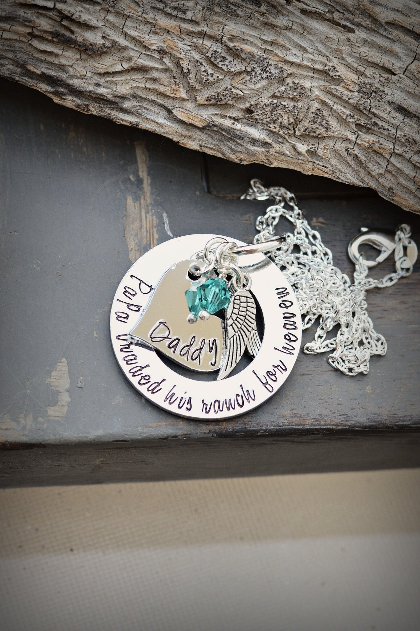 memorial dad pin jewelry with shotgun cylinder urn steel deer running cremation memory necklace stainless shell