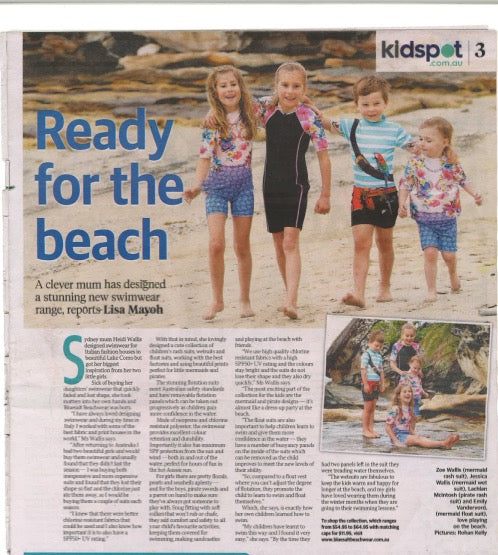 Telegraph article - Kids Spot
