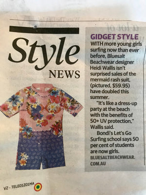 Telegraph style pages