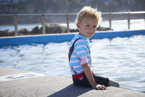 Boys Rash Suit - All in one suit. Pirate design