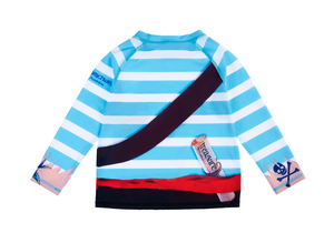 Pirate Long Sleeve Rash Top
