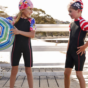 Girls Wet Suit - Floral