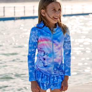 Unicorn Long Sleeve Rash Top