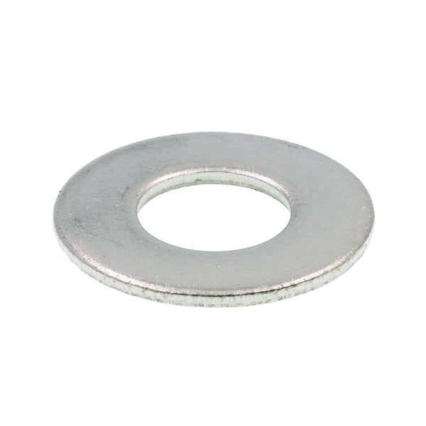 33652W Products - Flat Washer, 5/16 in, Zinc Finished Steel, (Pack of 50)