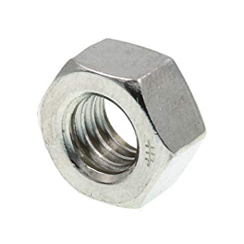 New Life 33-655H Hex Nut, 5/16 in-18 Zinc Finish (Pack of 50 Piece)