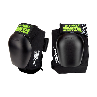 Scabs Derby Knee Pads - Black/Black