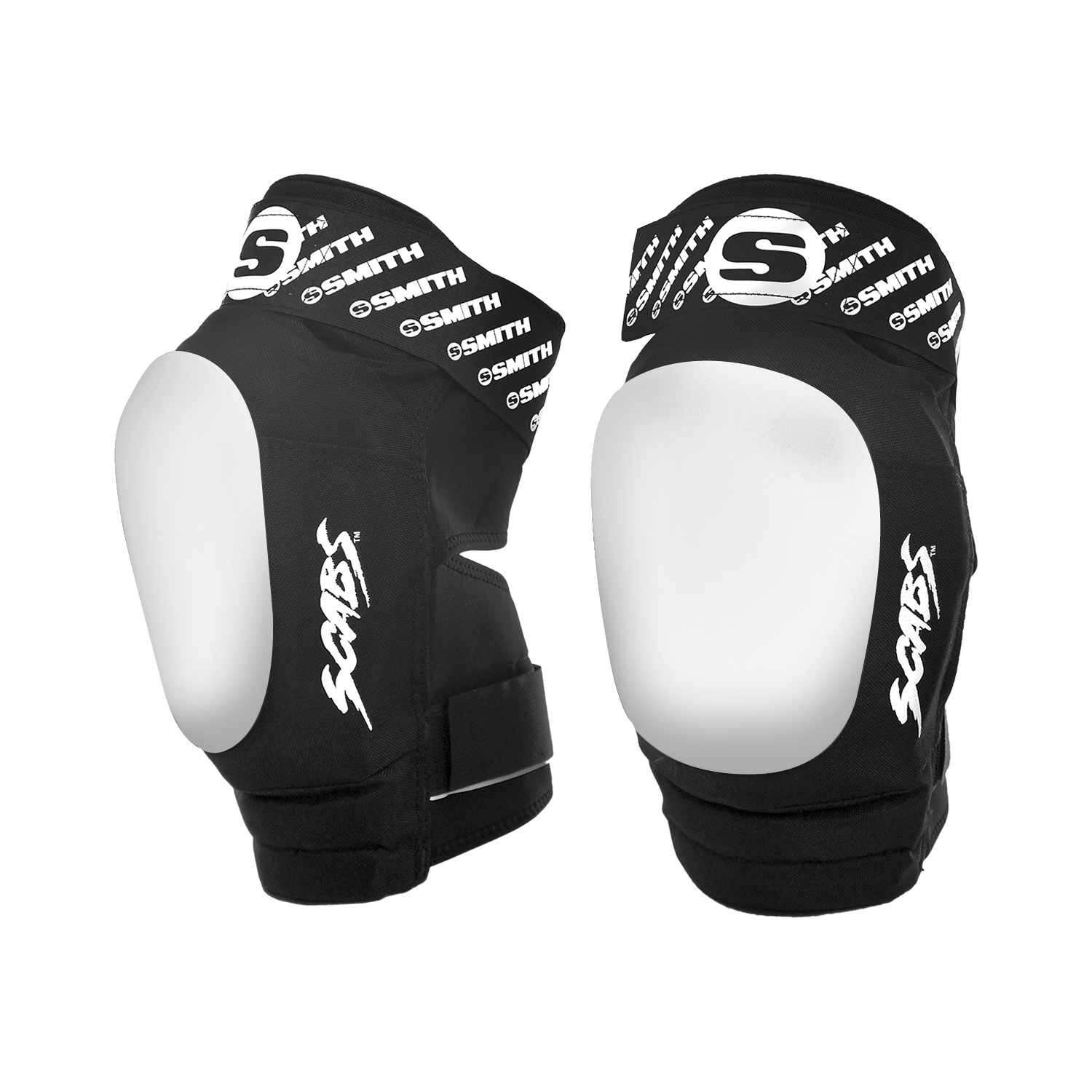 Smith Safety Gear Scabs Knee Pad X-Large Black//Red