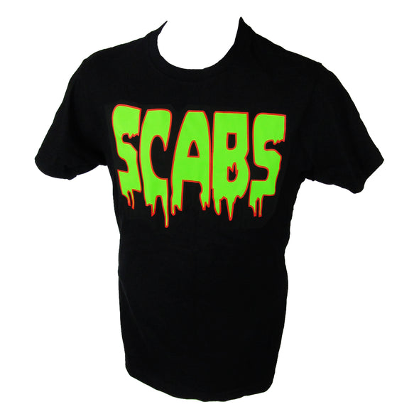Smith Scabs Neon Logo Black T-Shirt