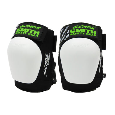 Scabs Derby Knee Pads - Black/White
