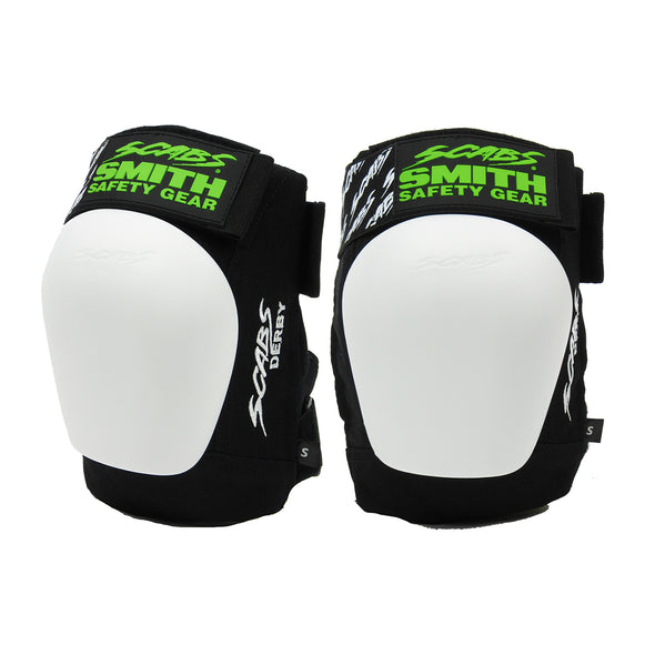 Smith Scabs Derby Knee Pads - Black/White
