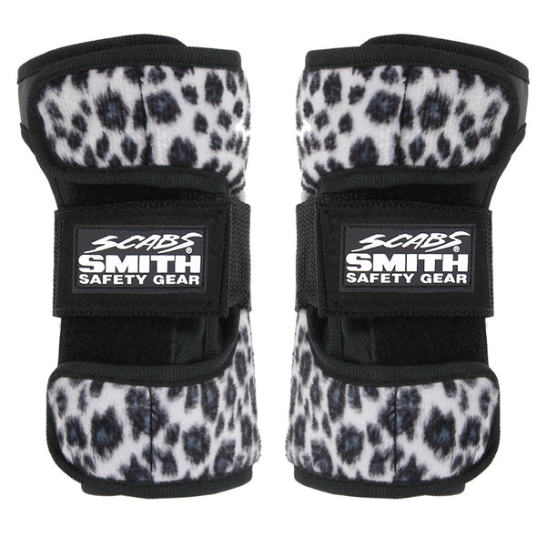 Smith Scabs - Leopard Wrist Guard - White