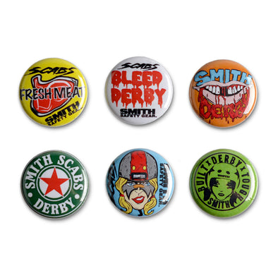 Smith Scabs Buttons - 6 Pack