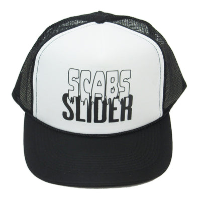 Smith Scabs Trucker 'Scabs Slider' Hat Black/White