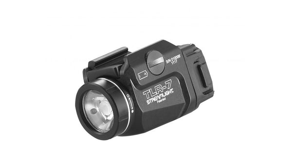 Streamlight, TLR-7, Tactical Weapon Light, 500 Lumens, Black - TucTite Holsters