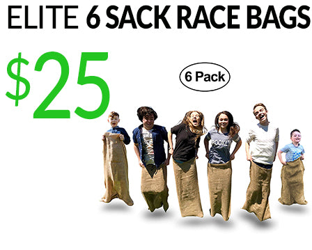 Elite 6 Sack Race Bags