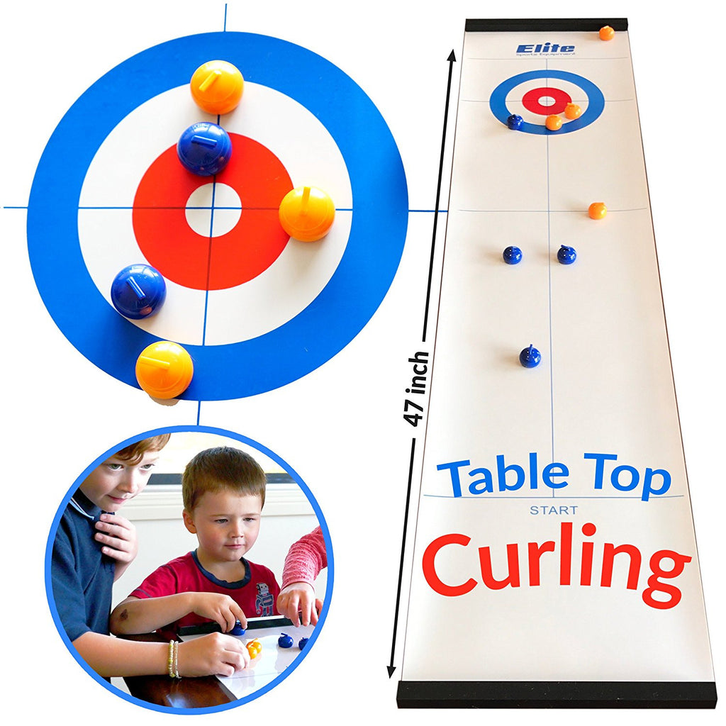 Elite Table Top Curling Game
