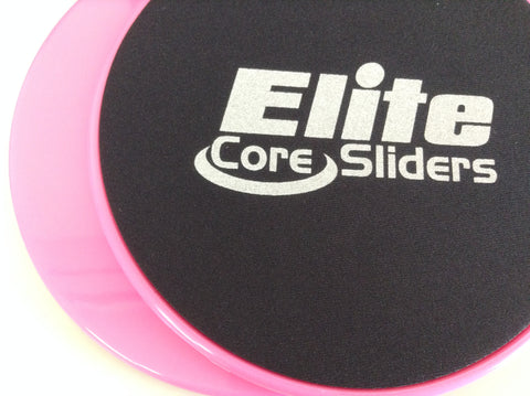 Elite Core Sliders (Pink)