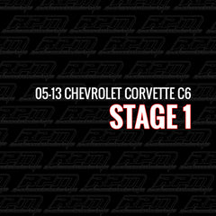Stage 1 Performance Package (2005-2013 Chevrolet Corvette C6)