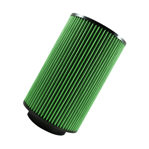 "Green Air Filter for 5"" Intake"