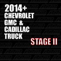 2014 + GM Truck (GMC, Chevrolet & Cadillac) Stage 2 Performance Package