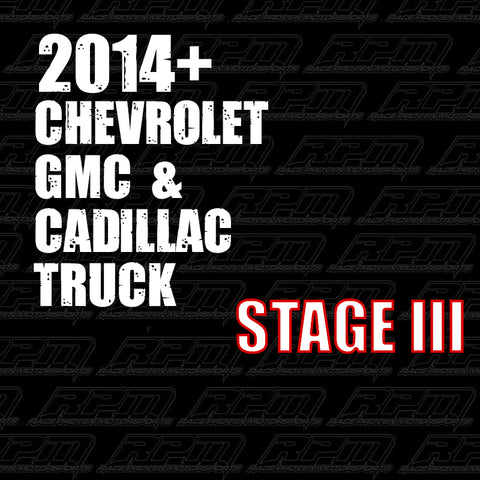 2014 + GM Truck Performance Packages
