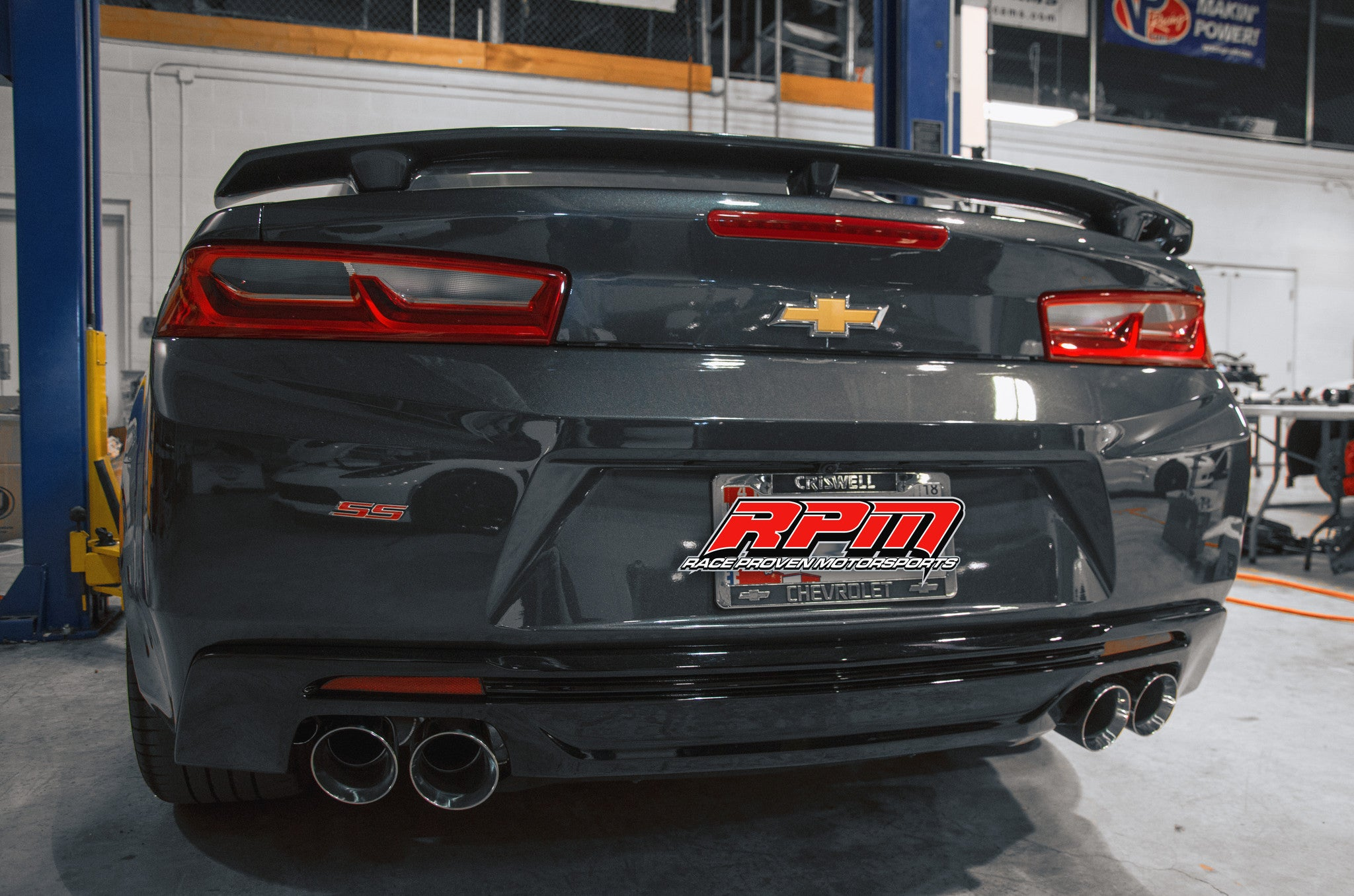 Stainless Works 6th Gen Camaro SS 2016 Full Exhaust System