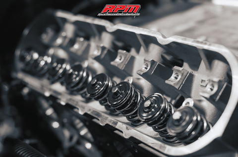 C6 Z06 LS7 Ported and Polished Cylinder Heads (Parts Only)