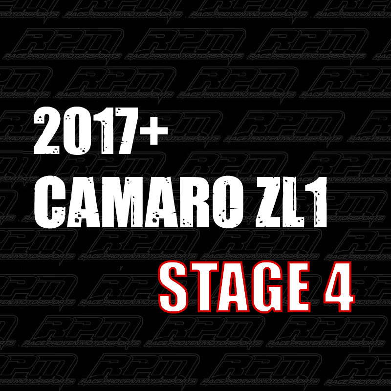 2017+ Camaro ZL1 Stage 4 Performance Package   Race Proven